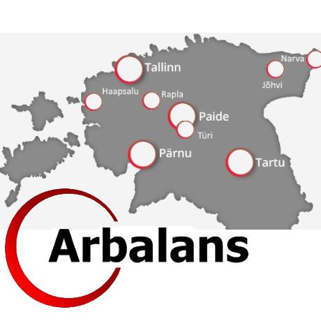 Arbalans теперь в Хаапсалу, Рапла, Йыхви и Нарве!